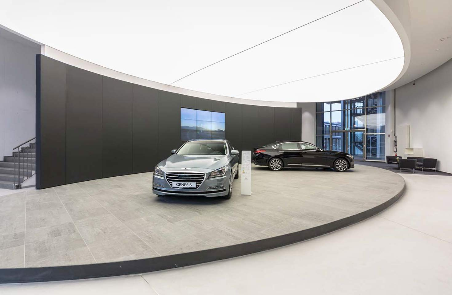 lichtdecke hyundai frankfurt rentex rentex wand und deckensysteme gmbh. Black Bedroom Furniture Sets. Home Design Ideas